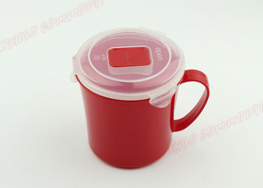 China Water Saver Microwave Soup Bowl PP Transparent Material Lid FDA Certificated supplier