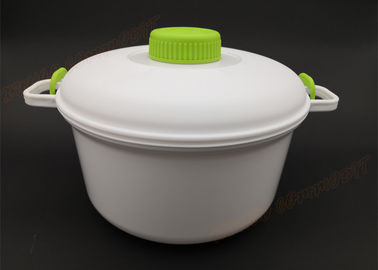 China Steaming Pan Plastic Kitchen Accessories Microwave Pressure Cooker Eco - Friendly supplier