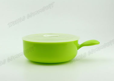 China Green Freezer Food Storage Containers 400mL Withstands High Temperature  supplier