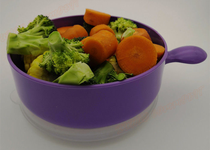 Polypropylene Microwave Safe Plastic Bowls Food Container With Lid
