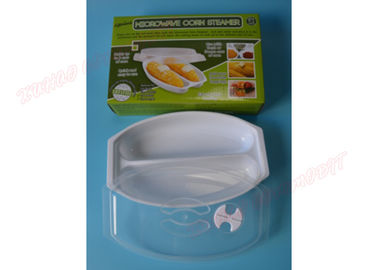 Cookware Corn Tray Microwave Bacon Tray Dishes Plates PP Material Eco - Friendly